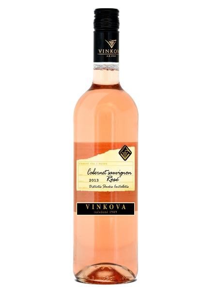 Cabernet Sauvignon rosé Vinkova 0,75l