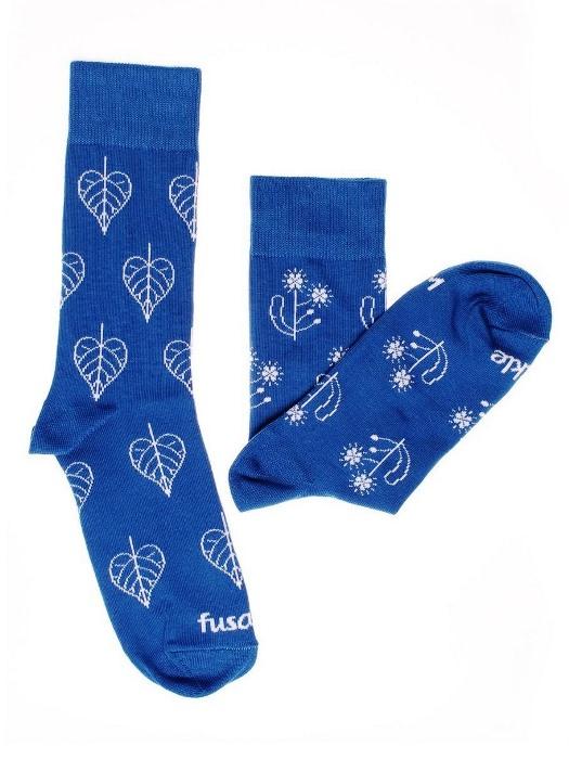 Fusakle ponožky modrotlač lipa