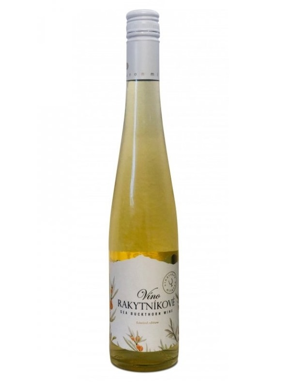 Rakytníkové víno Miluron 0,5l