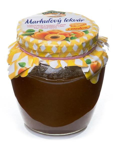 Marhuľový lekvár s medom 500g