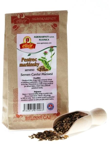Agrokarpaty Pestrec mariánsky - Semeno 100g