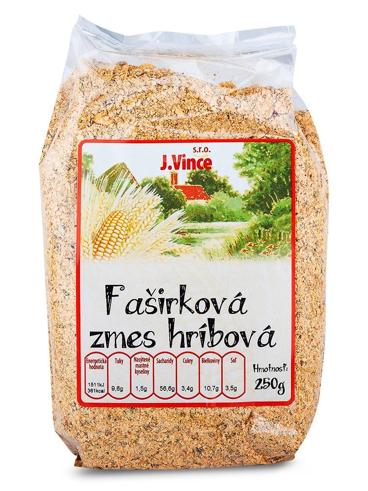 J. VINCE Fašírková zmes hríbová 250g