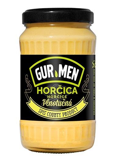 Horčica GUR.MEN plnotučná 350g