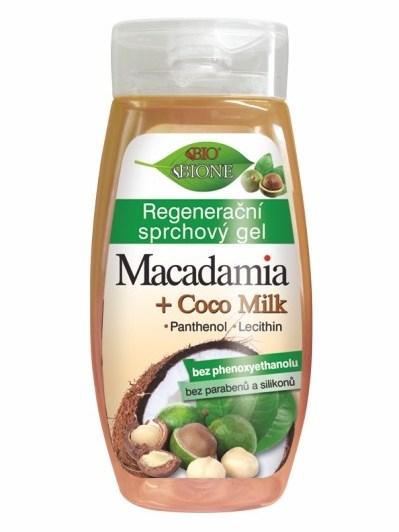Bione Cosmetics - Regeneračný sprchový gél Macadamia 260ml