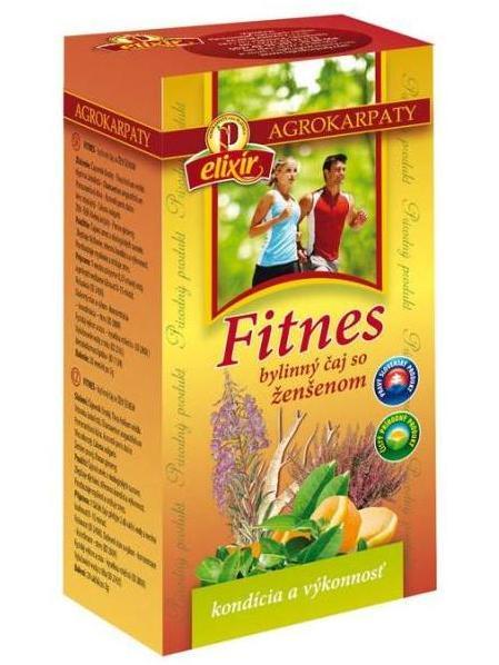 Agrokarpaty fitnes so ženšeňom bylinný čaj 20x2g