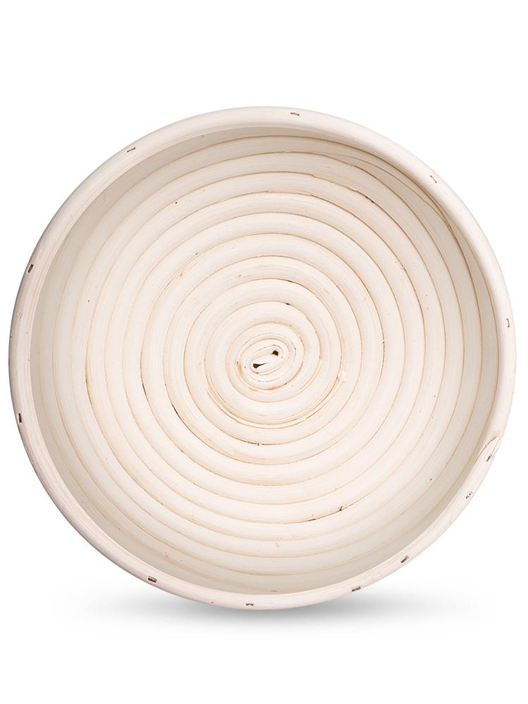 Ošatka na chlieb guľatá 20cm - ratan