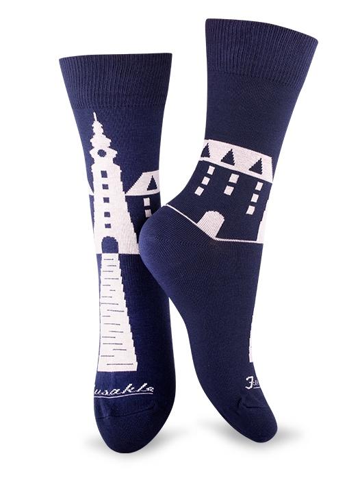 Fusakle ponožky Michalská veža
