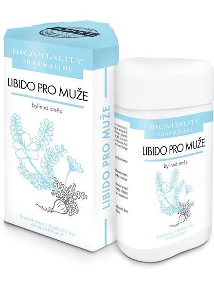 Topvet Libido pre mužov bylinná zmes 60 kapsúl