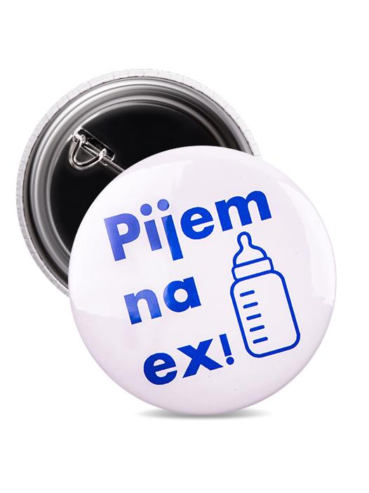 Odznak pijem na ex mlieko