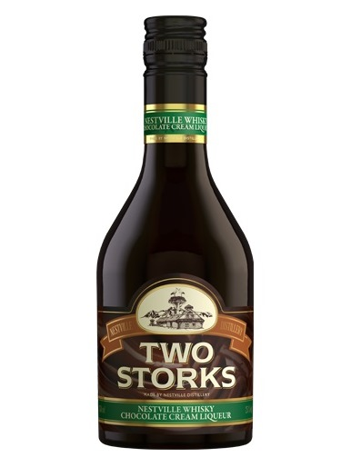 TWO STORKS Whisky chocolate cream liquer 25% 350 ml