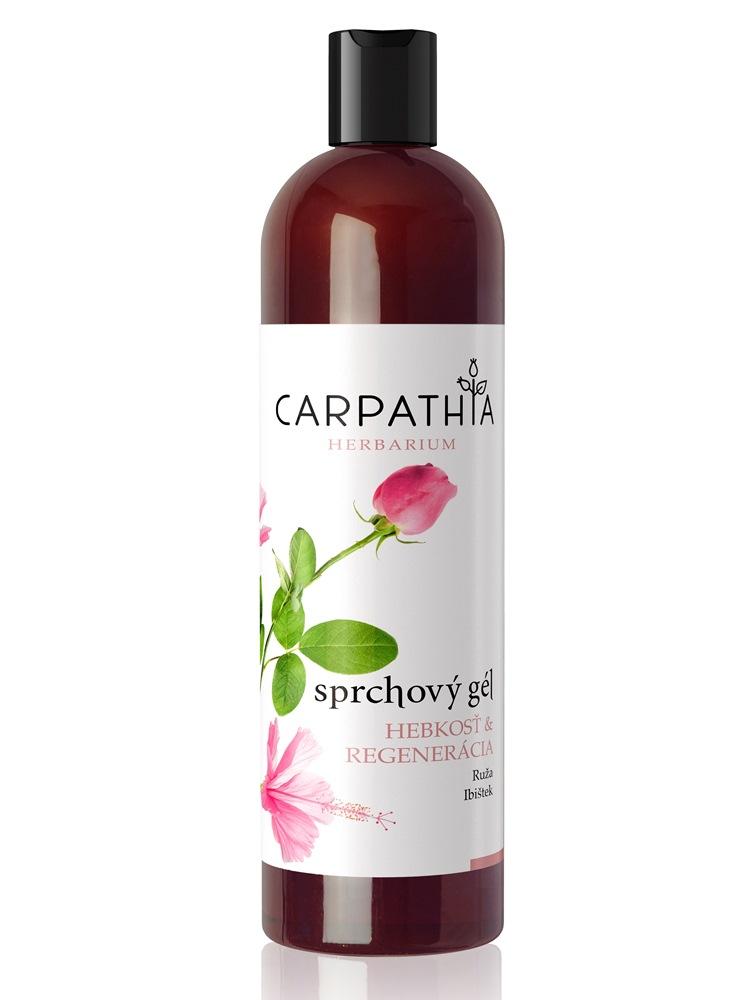 CARPATHIA Sprchový gél hebkosť & regenerácia 350 ml