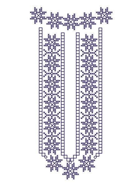 Tričko folklórna výšivka 02 Unisex Biele