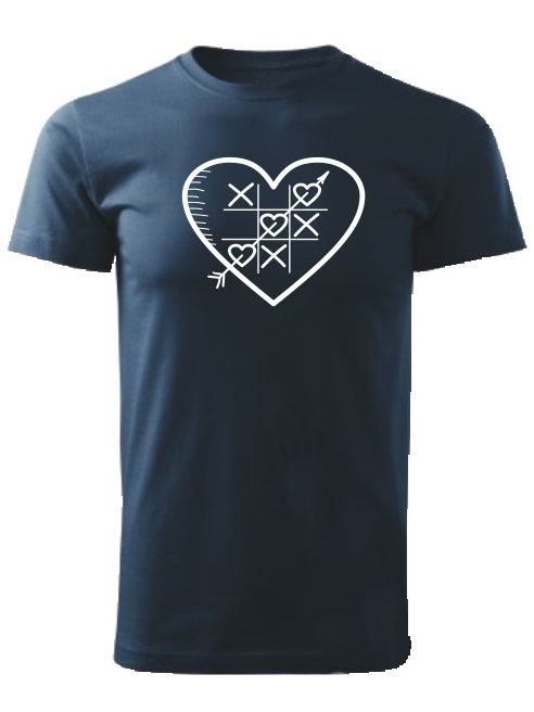 Tričko piškôrky Unisex Námornícke modré