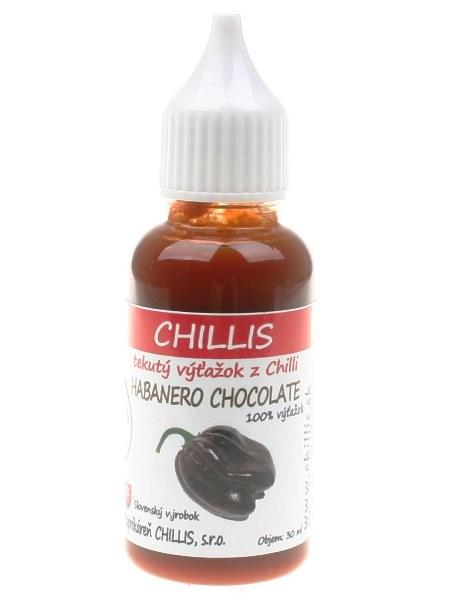 Habanero chocolate - tekuté chilli 30ml