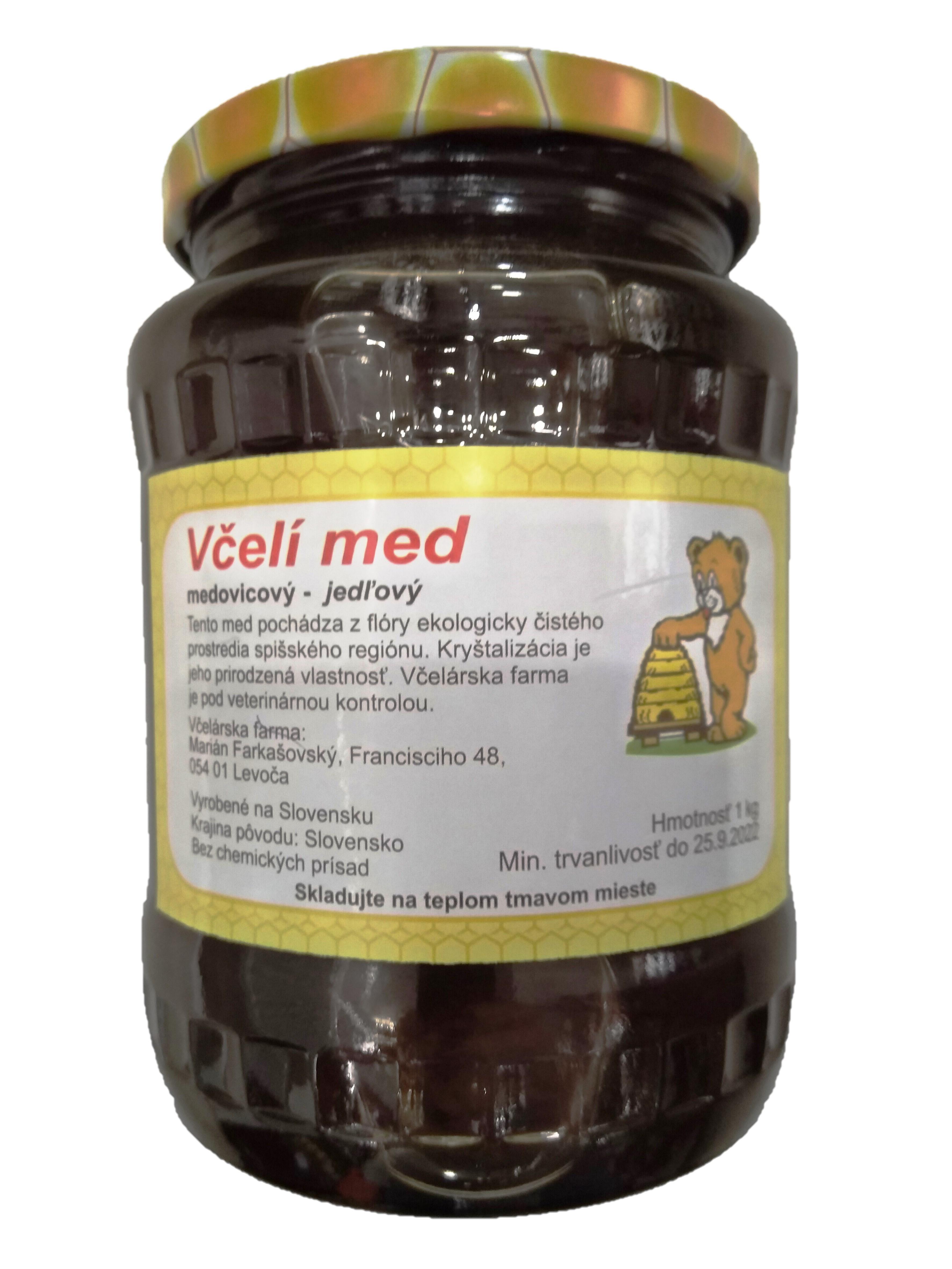 Jedľová medovica 1kg
