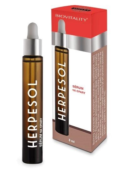 Topvet Herpesol sérum na pery pri oparoch 8ml