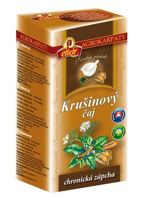 Agrokarpaty krušinový bylinný čaj 20x2g