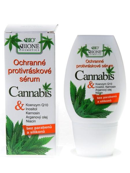 Bione Cosmetics - Protivráskové sérum Cannabis 40ml
