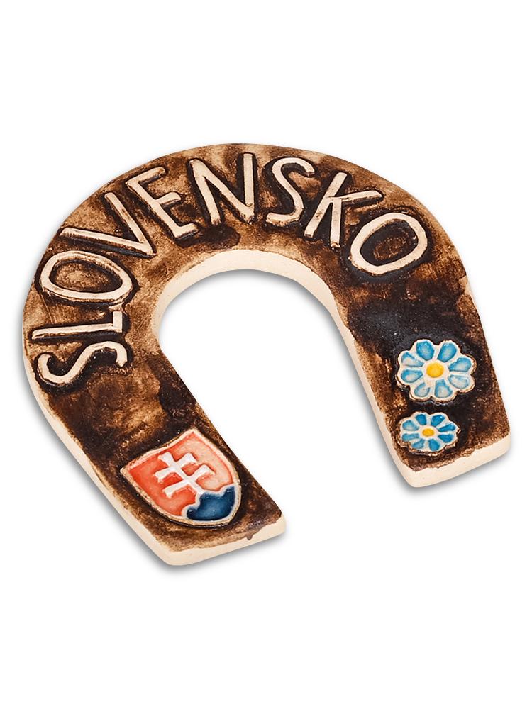 Keramická podkovička Slovensko