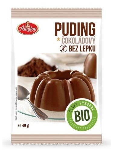 Amylon Puding čokoládový bez lepku BIO 40g