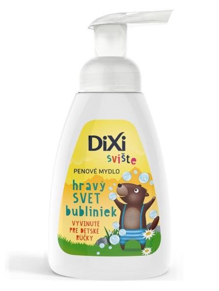 DIXI Penové mydlo Detské Svište 250ml