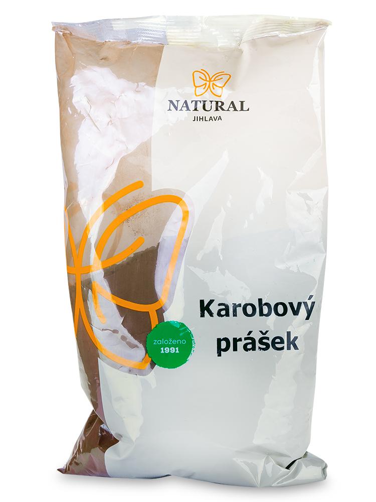 NATURAL JIHLAVA Karobový prášok 400g