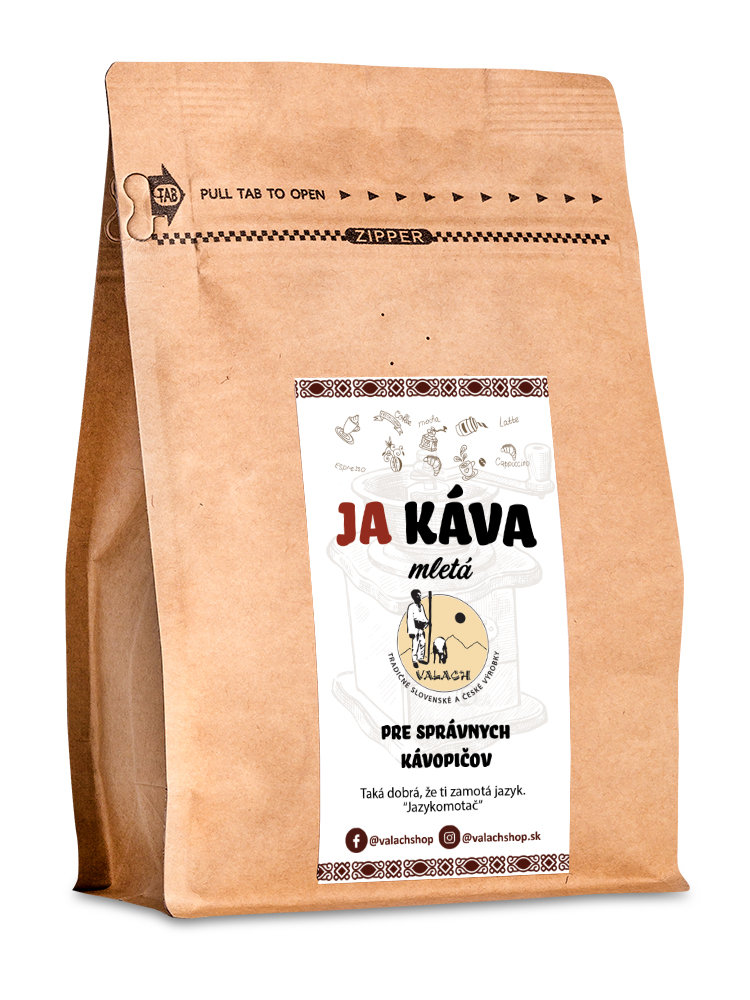 Ja káva mletá 70% Arabica 30% Robusta 250g