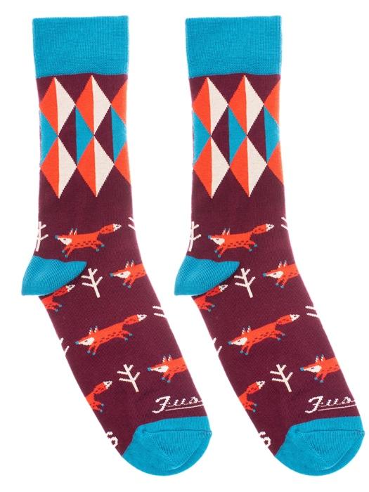 Fusakle ponožky Lišiak