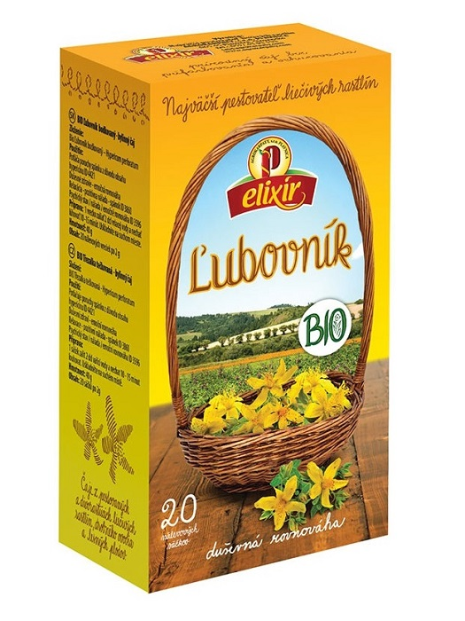 Agrokarpaty ľubovník bio bylinný čaj 20x2g