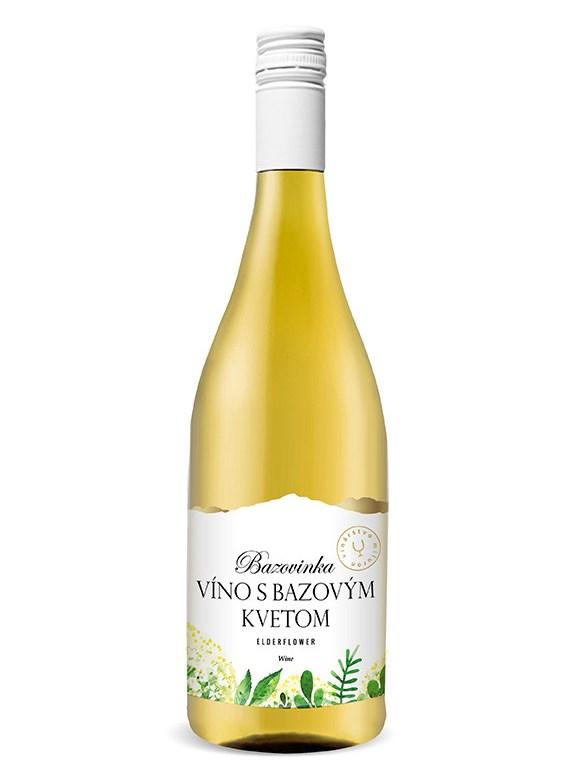 Bazovinka víno Miluron 0,75l