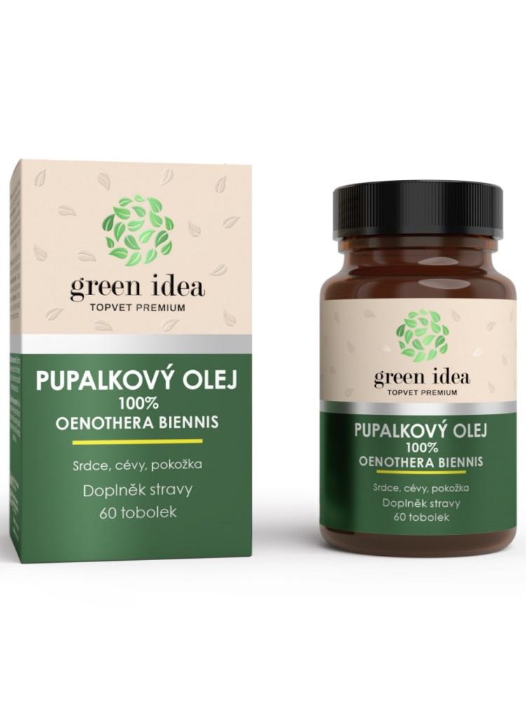Topvet Pupalkový olej 100% 60 kapsúl