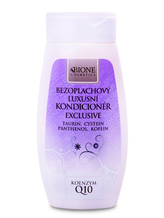 Bione Cosmetics - Bezoplachový kondicionér EXCLUSIVE + Q10 260 ml