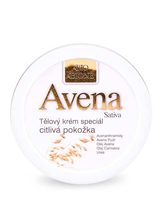 Bione Cosmetics - Telový krém špeciál citlivá pokožka Avena 155ml