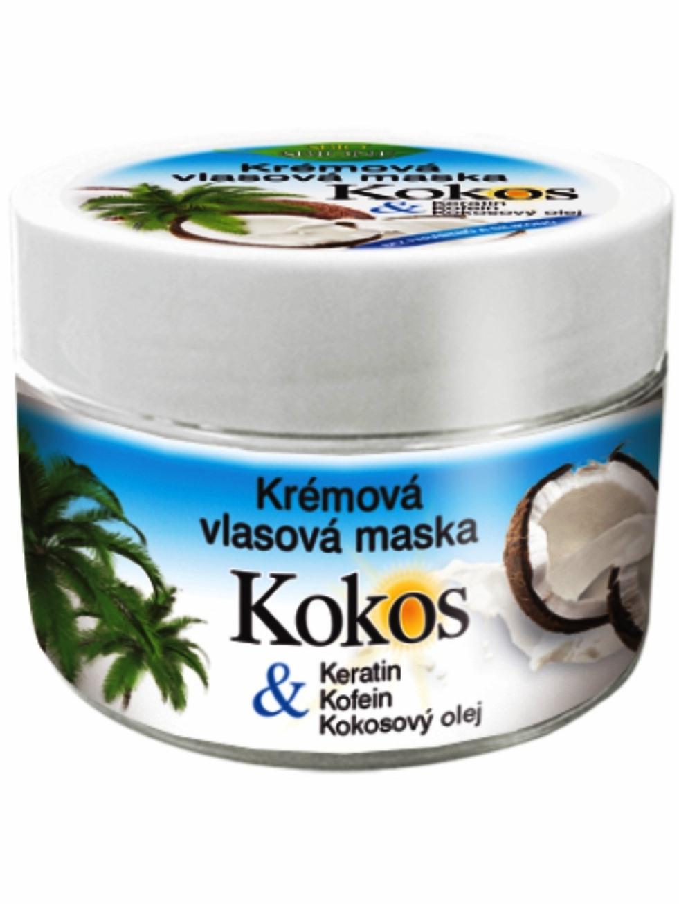 Bione Cosmetics - Krémová vlasová maska Kokos 260ml