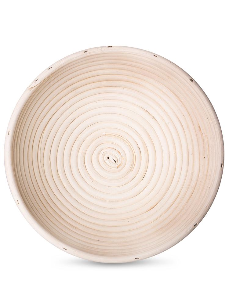 Ošatka na chlieb guľatá 25cm - ratan