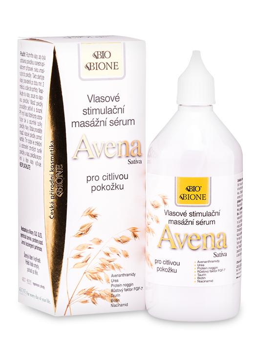 Bione Cosmetics - Vlasové stimulačné masážne sérum Avena 215ml