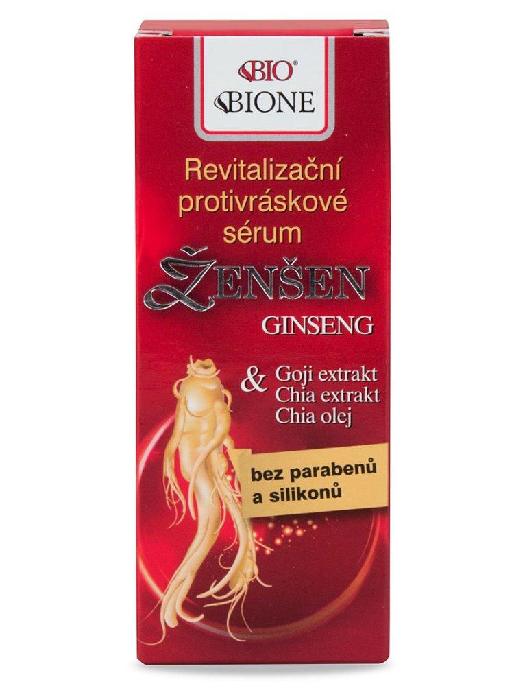 Bione Cosmetics - Revitalizačné protivráskové sérum Ženšen 40ml