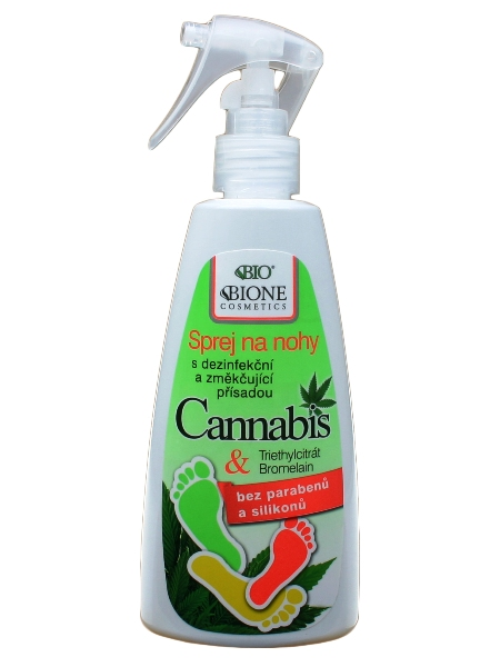 Bione Cosmetics - Sprej na nohy Cannabis 260ml