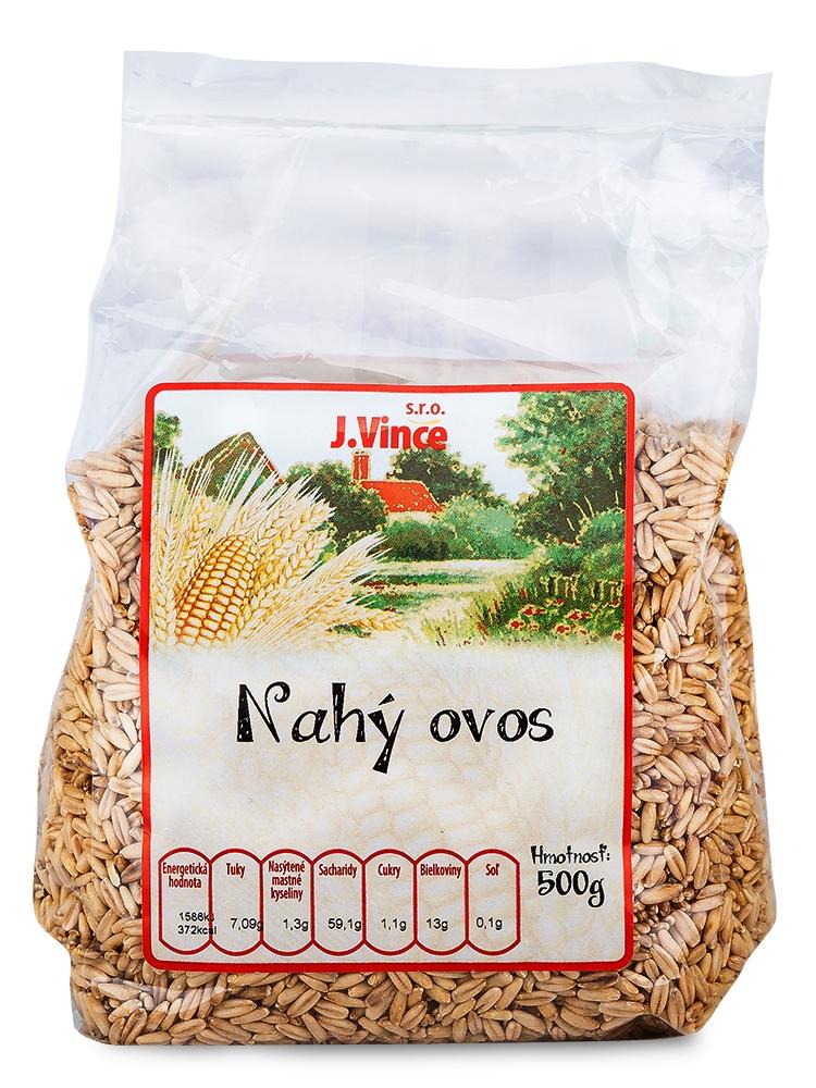J. VINCE Nahý ovos 500g