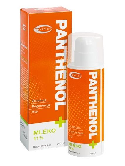 Topvet Pantenol mlieko 11% 200ml