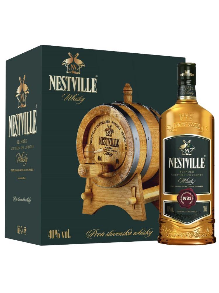 Whisky Nestville 40% 0,7L + súdok