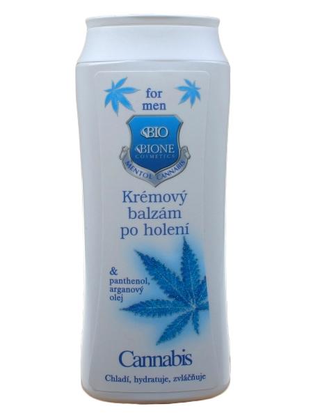 Bione Cosmetics - Krémový balzam po holení Cannabis 200ml