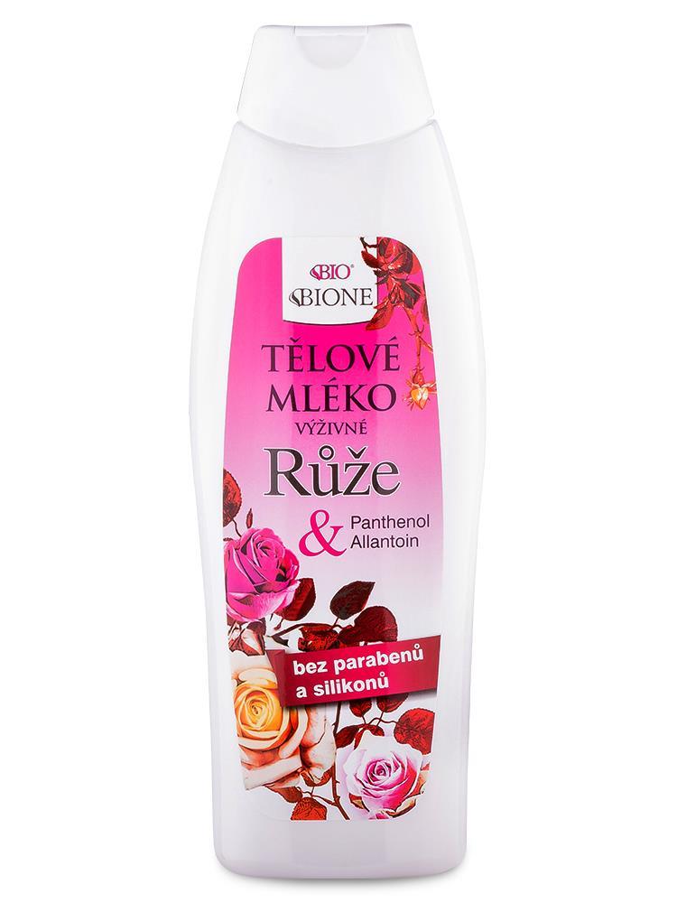 Bione Cosmetics - Telové mlieko Ruža 500ml