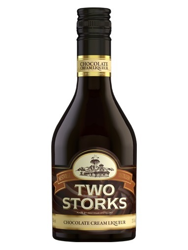 TWO STORKS Chocolate cream liquer 25% 350 ml
