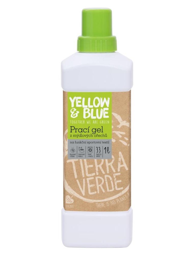 Tierra Verde prací gél na funkčný športový textil s koloidným striebrom - fľaša 1L