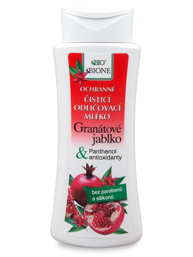 Bione Cosmetics - Odličovacie pleťové mlieko Granátové jablko 255ml