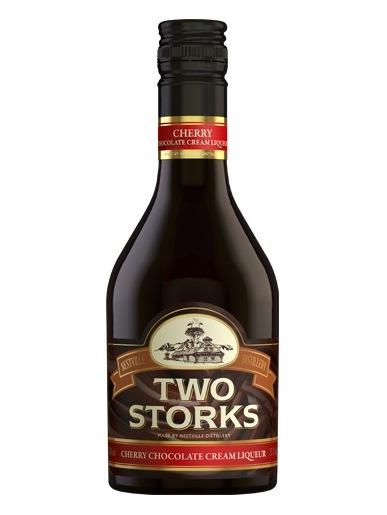 TWO STORKS Cherry chocolate cream liquer 25% 350 ml