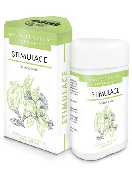 Topvet Stimulácia bylinná zmes 60 kapsúl