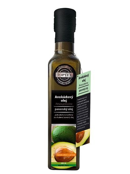 Topvet avokádový olej 250ml