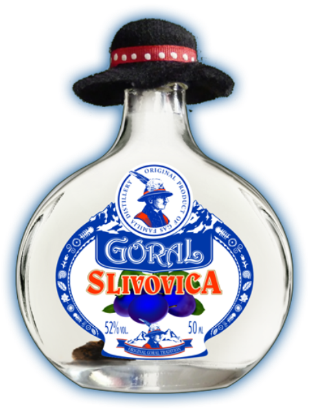 Goral Slivovica 52% 0,05l